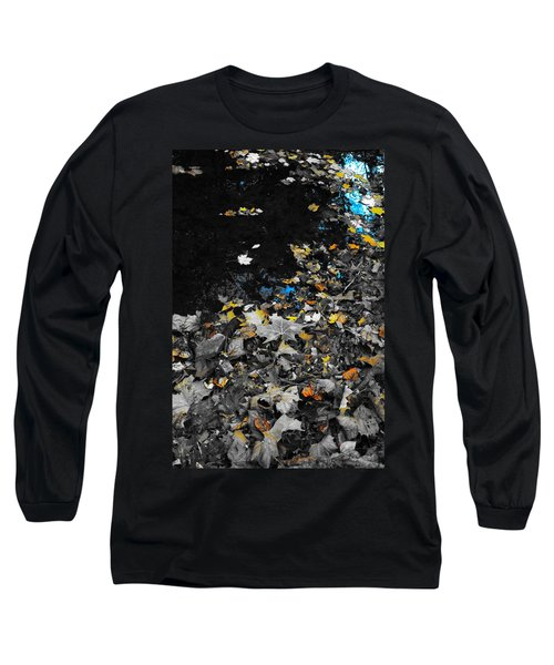 Autumn's Last Color Long Sleeve T-Shirt by Photographic Arts And Design Studio