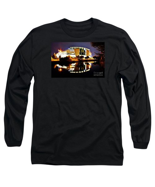 Autzen At Night Long Sleeve T-Shirt