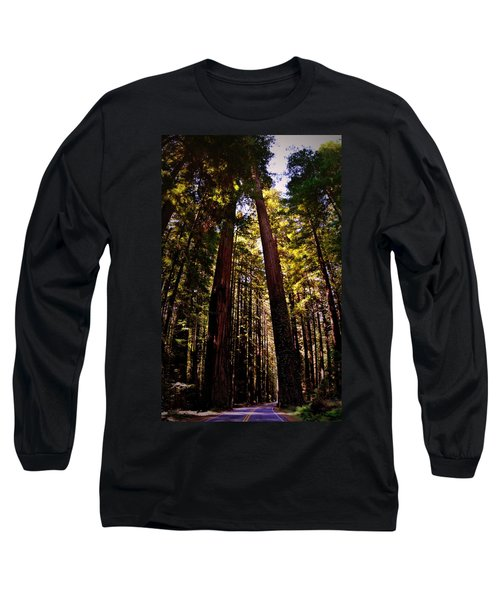 Avenue Of The Giants Long Sleeve T-Shirt