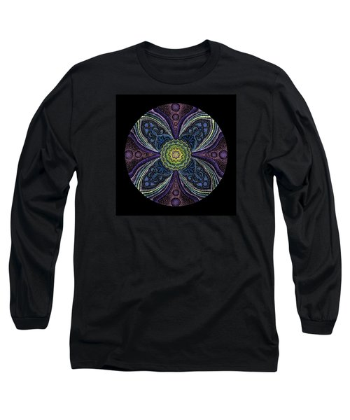 Long Sleeve T-Shirt featuring the painting Awakening by Keiko Katsuta