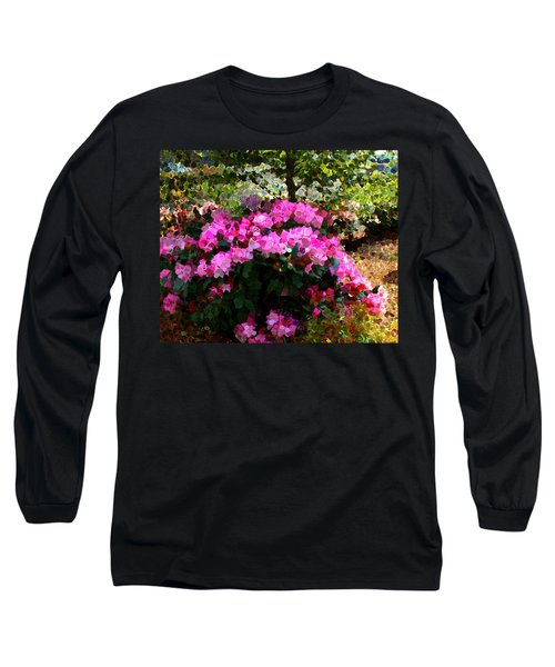 Azalea Long Sleeve T-Shirt by Terence Morrissey