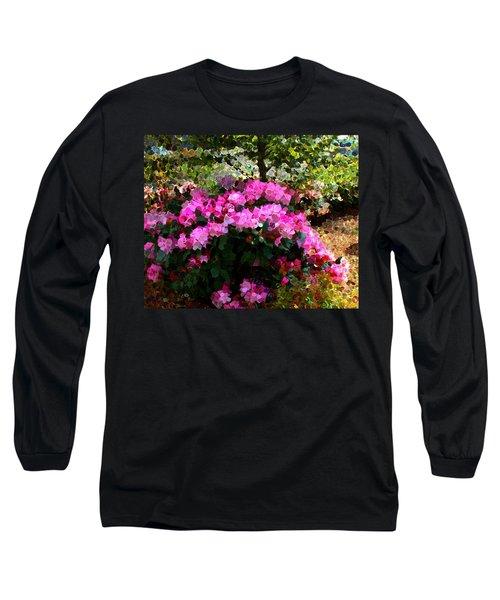 Azalea Long Sleeve T-Shirt by Terence Morrissey