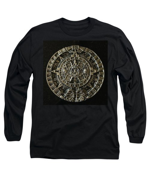 Aztec Long Sleeve T-Shirt by Julio Lopez