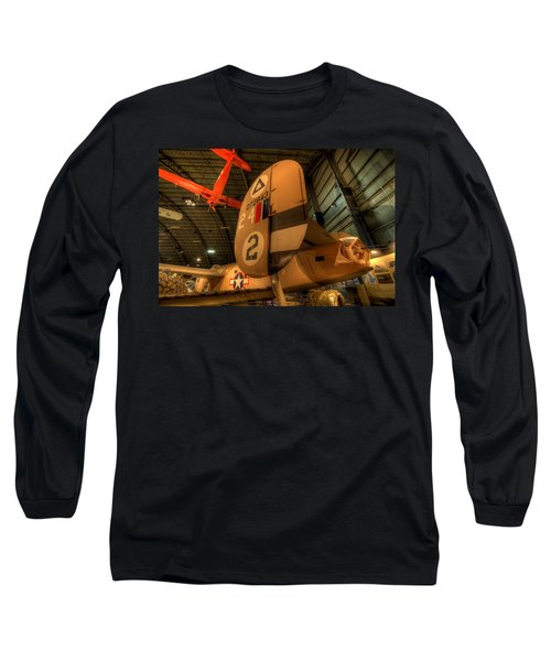 B-24 Liberator Tail Long Sleeve T-Shirt