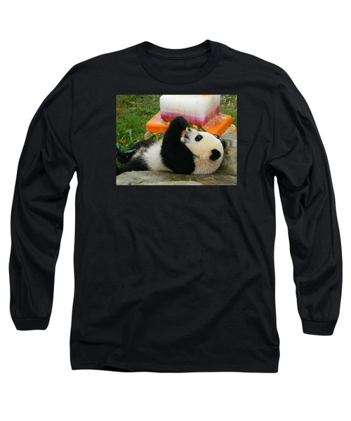 Baby Bao Bao's First Birthday Long Sleeve T-Shirt by Emmy Marie Vickers