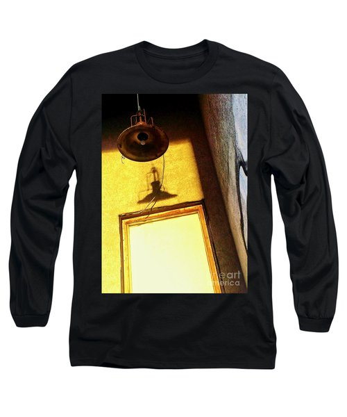 Long Sleeve T-Shirt featuring the photograph Back Of House by James Aiken