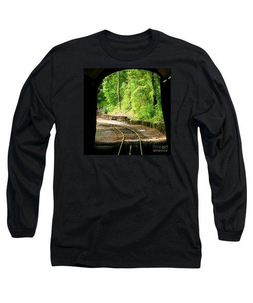 Back Tracking Long Sleeve T-Shirt by Joy Hardee
