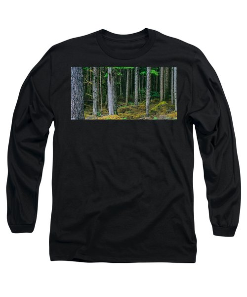 Inside View Backroad Forest Long Sleeve T-Shirt