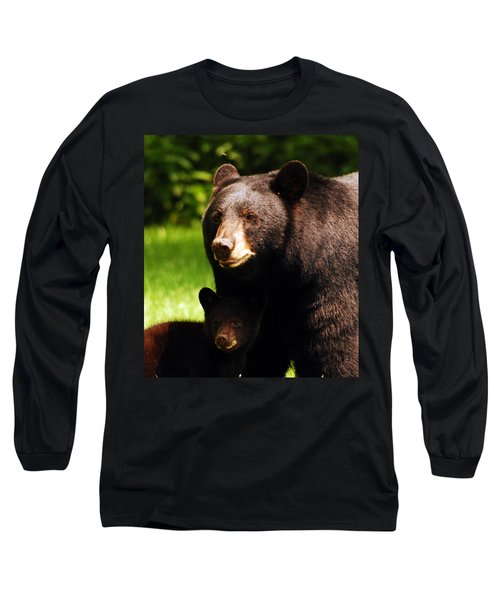 Backyard Bears Long Sleeve T-Shirt