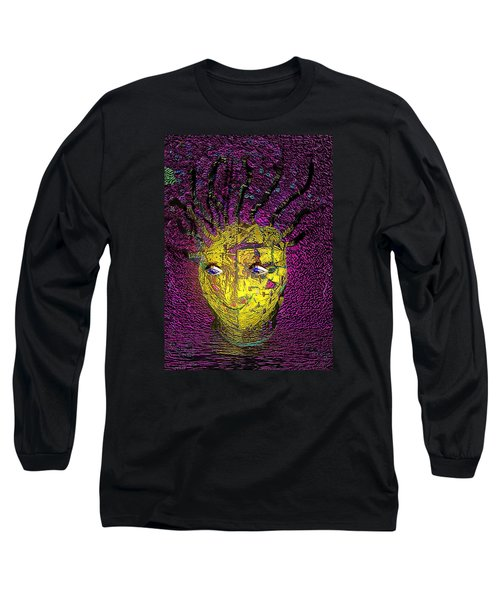 Bad Hair Day Long Sleeve T-Shirt by Irma BACKELANT GALLERIES