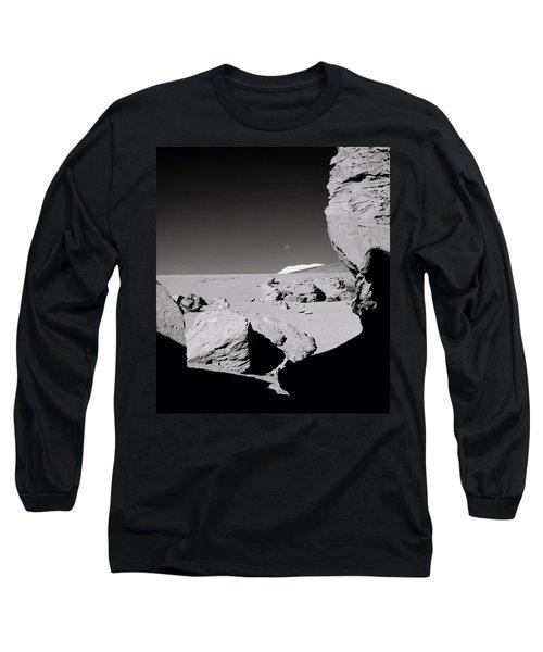 The Earth Long Sleeve T-Shirt by Shaun Higson
