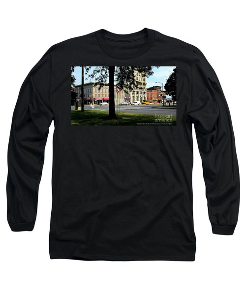 Long Sleeve T-Shirt featuring the photograph Bagg's Square West by Peter Gumaer Ogden