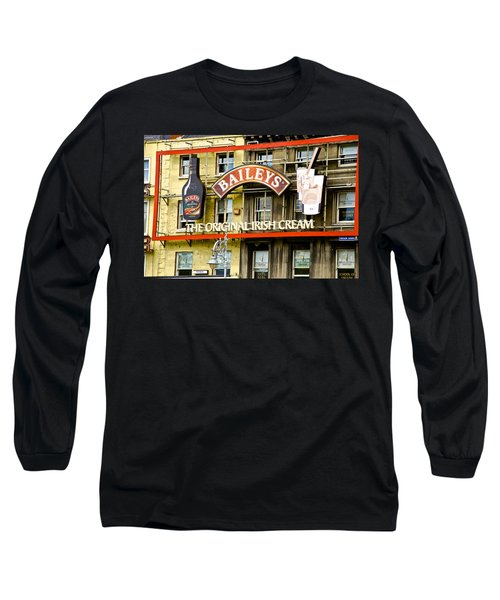 Baileys Irish Cream Long Sleeve T-Shirt by Charlie Brock