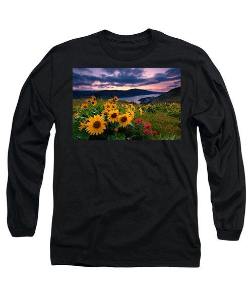 Balsam Root Sunrise Long Sleeve T-Shirt