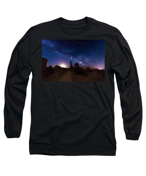 Balance Long Sleeve T-Shirt by Dustin  LeFevre