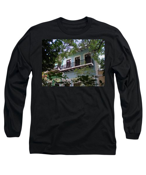 Balcony At La Caleta Long Sleeve T-Shirt