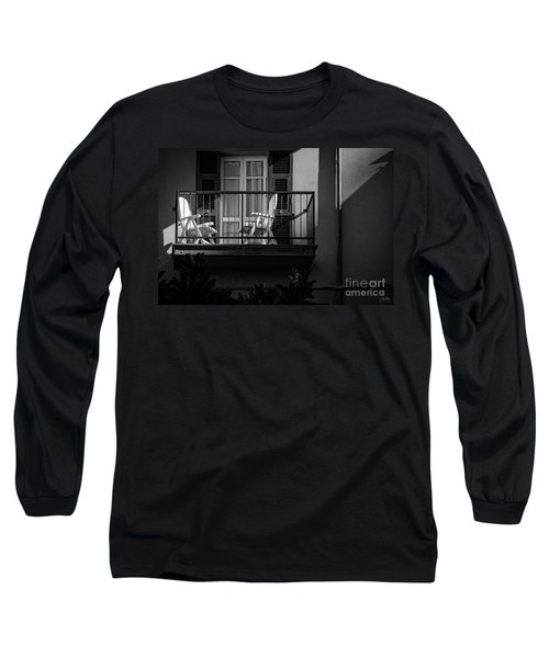 Balcony Bathed In Sunlight Long Sleeve T-Shirt
