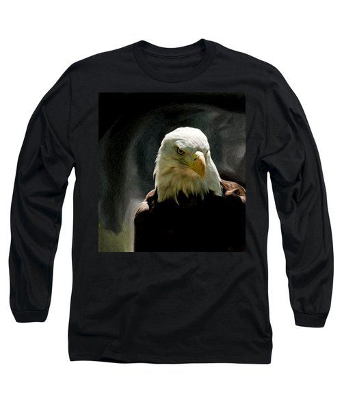 Bald Eagle Giving You That Eye Long Sleeve T-Shirt