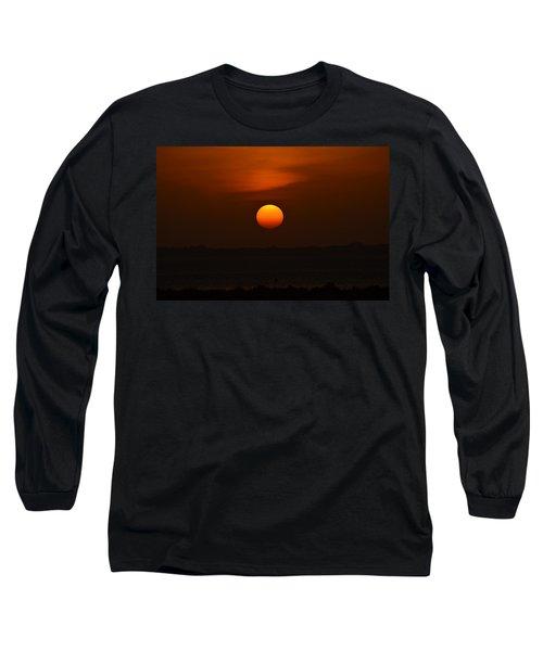 Long Sleeve T-Shirt featuring the photograph Ball Of Fire by Debra Martz