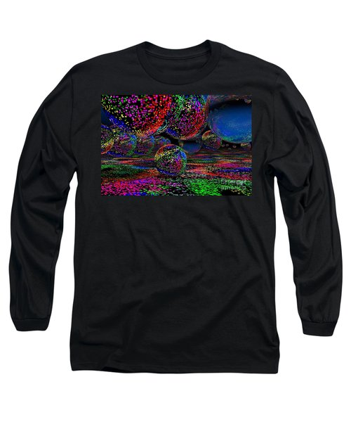 Balls1 Long Sleeve T-Shirt by Mark Blauhoefer
