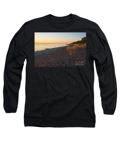 Baltic Sea Coast Long Sleeve T-Shirt by Kennerth and Birgitta Kullman