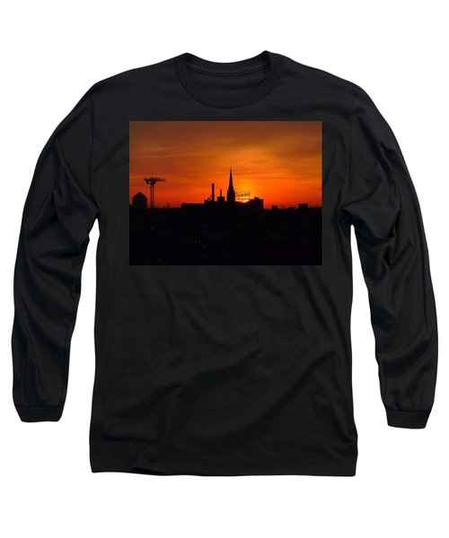 Baltimore Dawn Long Sleeve T-Shirt by Robert Geary