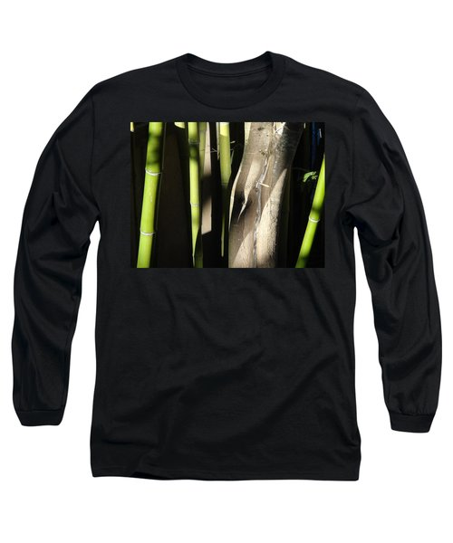 Long Sleeve T-Shirt featuring the photograph Bam  Boo  by Shawn Marlow