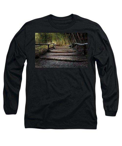 Bamboo Garden Long Sleeve T-Shirt