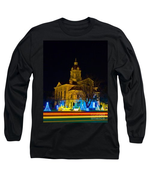Bandera County Courthouse Long Sleeve T-Shirt