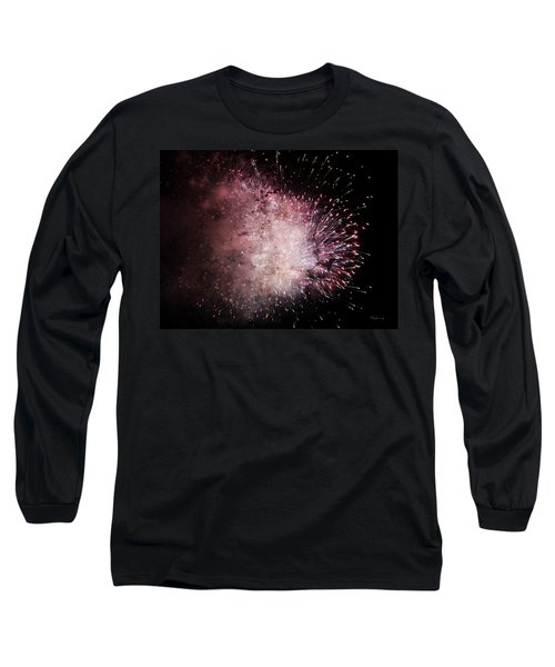 Earth's Demise Long Sleeve T-Shirt by Cynthia Lassiter