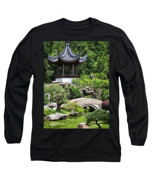 Bansi Garden Long Sleeve T-Shirt by John Swartz
