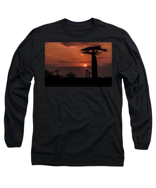 Baobab Sunrise Long Sleeve T-Shirt