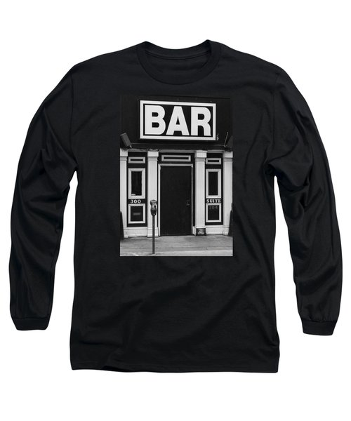Long Sleeve T-Shirt featuring the photograph Bar by Rodney Lee Williams