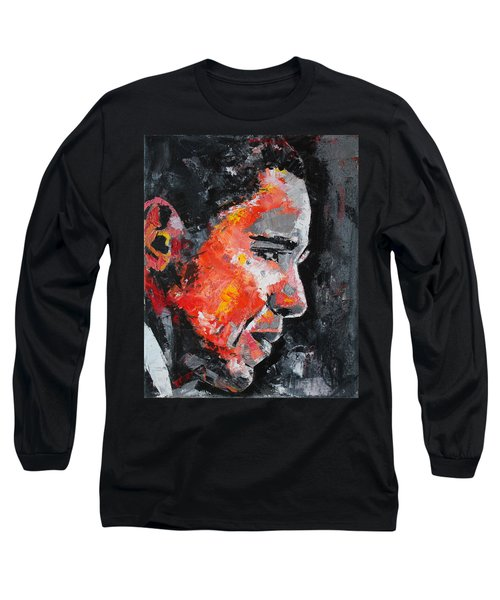 Barack Obama Long Sleeve T-Shirt by Richard Day