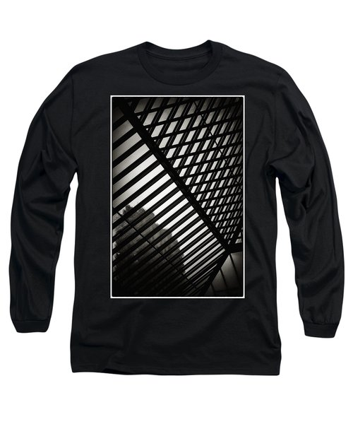 Barbican Grids Long Sleeve T-Shirt