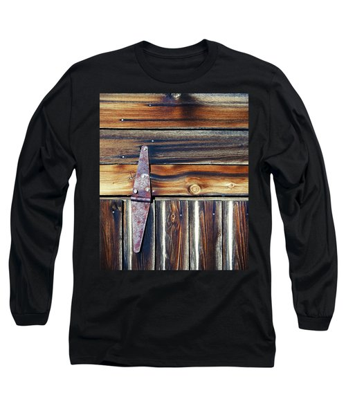 Barn Door Long Sleeve T-Shirt by Wayne Sherriff