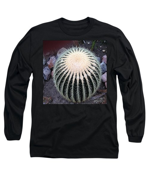 Long Sleeve T-Shirt featuring the photograph Barrel Cactus by Luther Fine Art