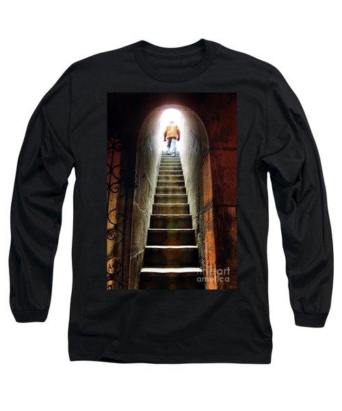 Basement Exit Long Sleeve T-Shirt