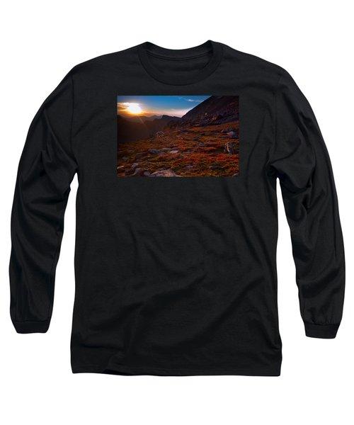 Bathing In Last Light Long Sleeve T-Shirt by Jim Garrison