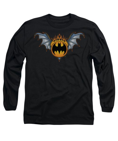 Batman - Bat Wings Logo Long Sleeve T-Shirt