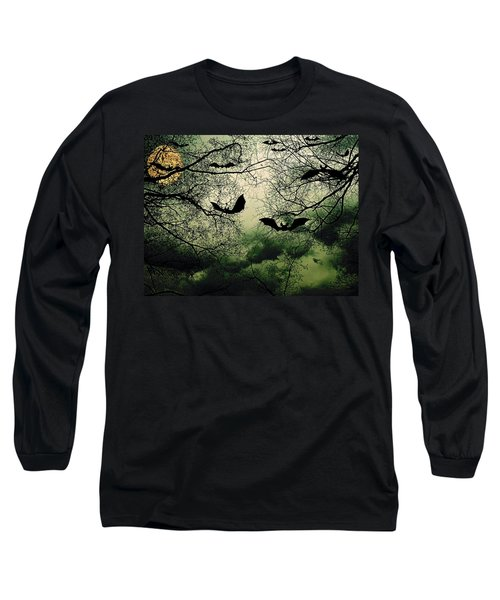 Bats From Hell Long Sleeve T-Shirt