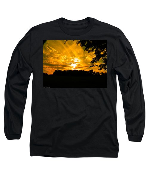 Battle Of The Clouds Long Sleeve T-Shirt by Nick Kirby