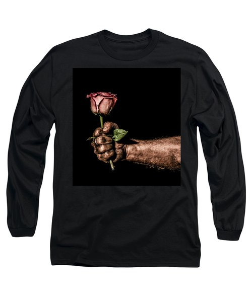 Long Sleeve T-Shirt featuring the photograph Be Mine by Aaron Aldrich