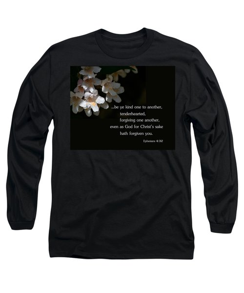 Long Sleeve T-Shirt featuring the photograph Be Ye Kind by Larry Bishop
