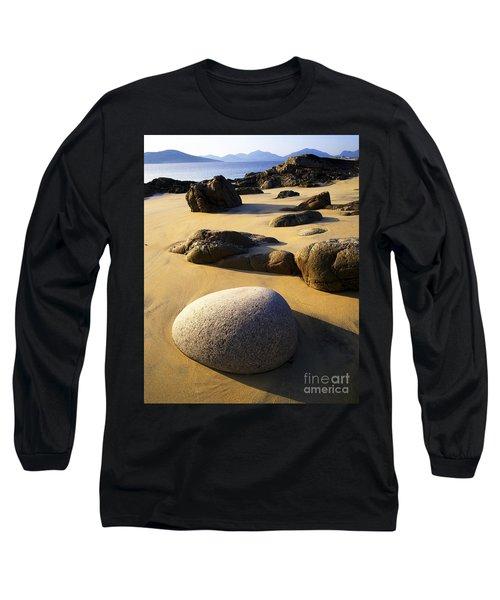 Beach Of Gold Long Sleeve T-Shirt