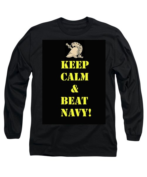 Beat Navy Long Sleeve T-Shirt