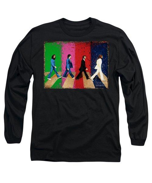 Beatles Crossing Long Sleeve T-Shirt