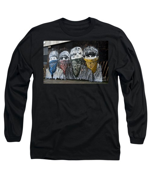 Beatles Street Mural Long Sleeve T-Shirt