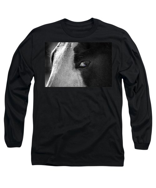 Beautiful Blind Soul Horse Long Sleeve T-Shirt