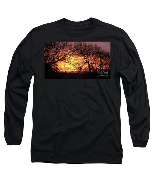 Beautiful Dawn Long Sleeve T-Shirt by Richard Brookes